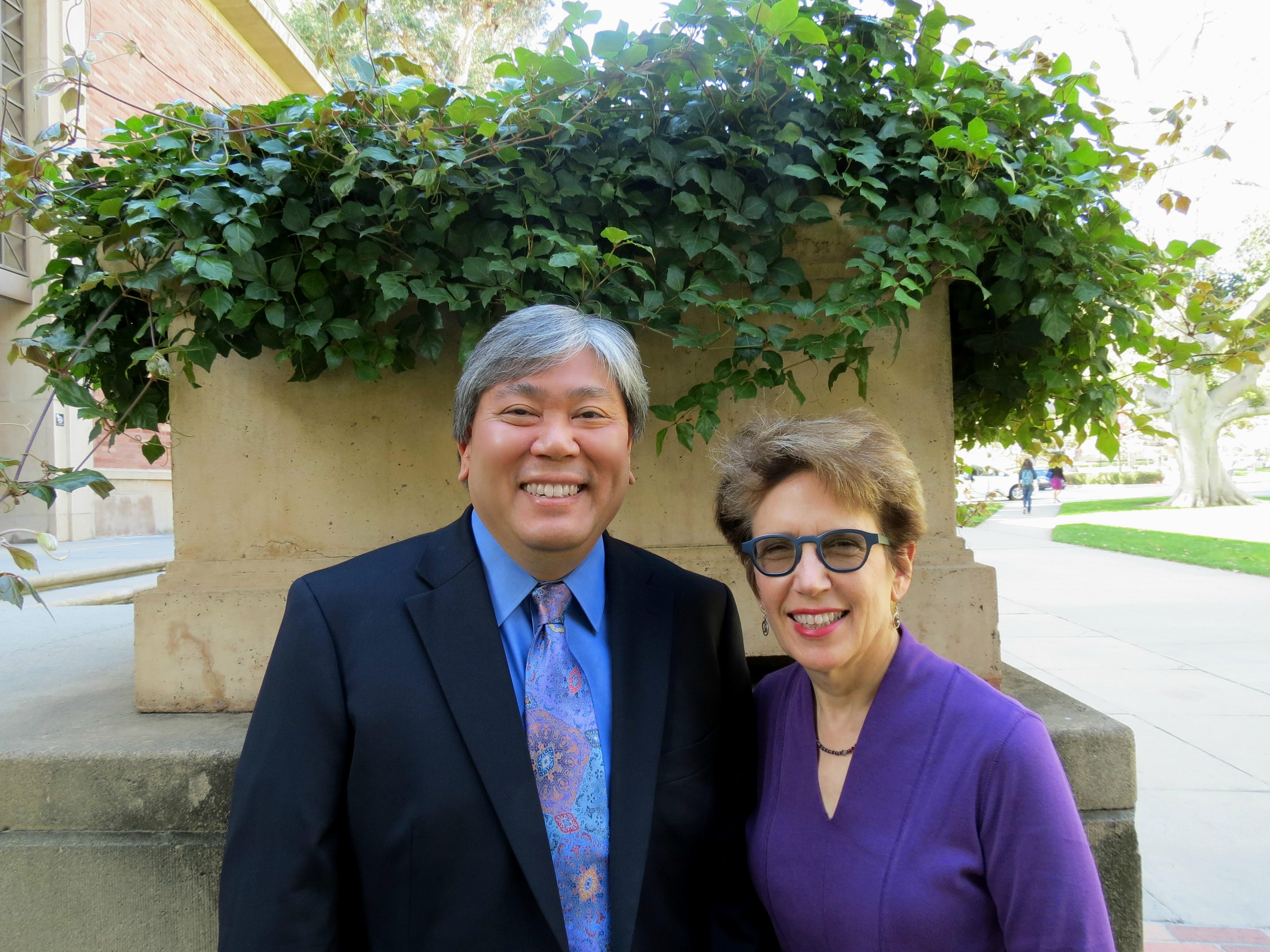 Kent Wada and Chris Borgman