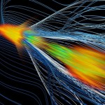 Antimatter catches a wave: Accelerating positrons with plasma is a step toward smaller particle colliders