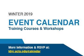 IDRE Training Courses & Workshops